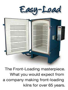 Easy-Load Front Loading Studio Kilns
