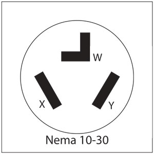 Nema 10 30r Wiring Diagram on wiring diagram 3 prong dryer plug
