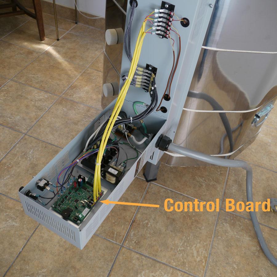 Bartlett 3 Button Control Ll Electric Kilns Built To Last Wiring Diagram For Kiln Replacing Unplug