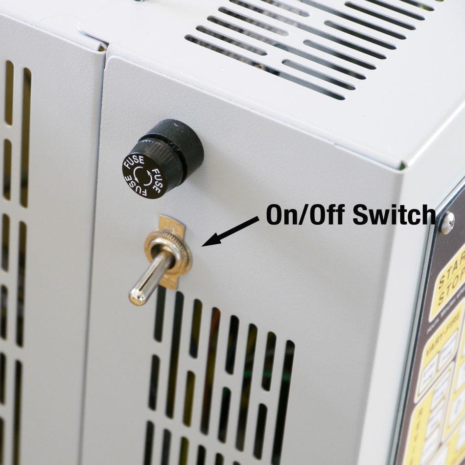 Check operation of the On/Off Toggle Switch | L&L Electric Kilns ...