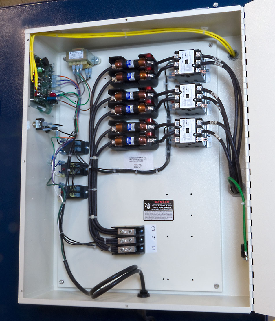 Kiln Controller Wiring Diagram 240v Contactor Reinvent Your Pid L Electric Kilns Rh Hotkilns Com 3 Pole