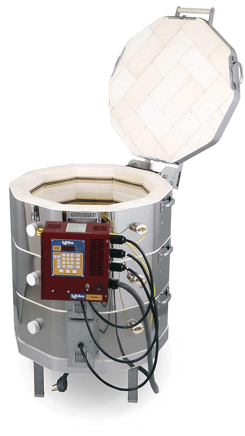 Jupiter Automatic Customizable Kilns Ll Electric Built To Kiln Relay Jd230 Open