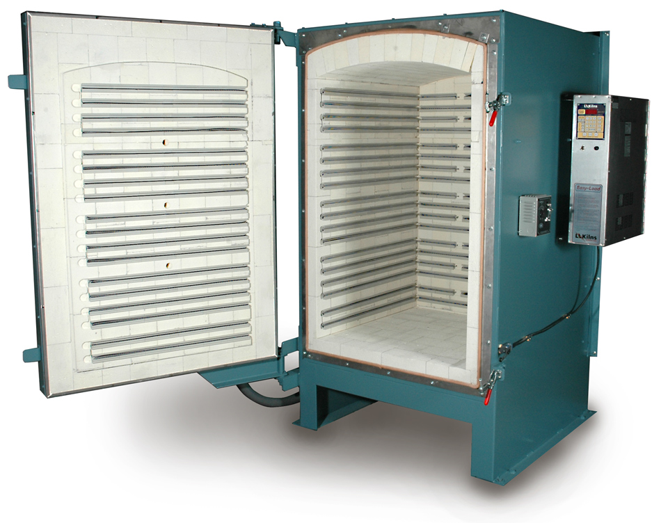 L&L Easy-Load Front-Loading Production Kiln up to 25 cubic feet