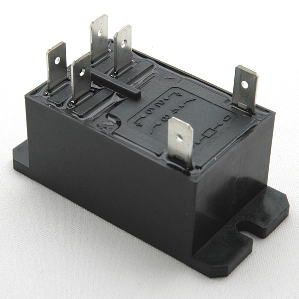 Enclosed Power Amp Control Relay 25 Amp 12 Volt Coil L