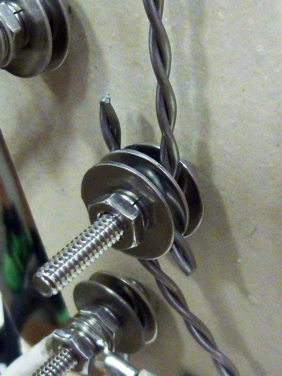 Element Terminal Hardware Set For Ceramic Block Ll Wiring