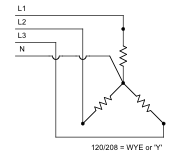 wye electric kilns electrical theory & application l&l electric 3 phase electric heater wiring diagram at n-0.co