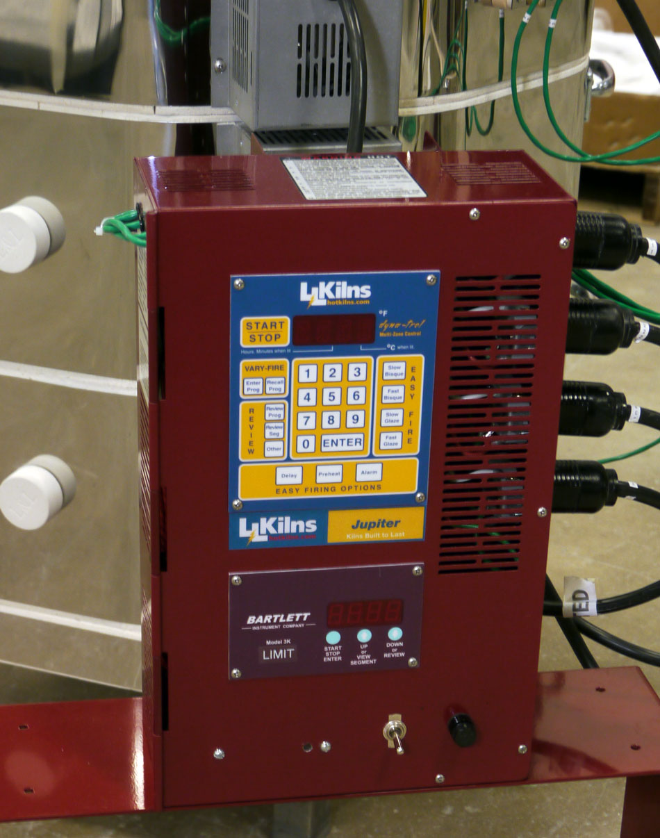 Jupiter Control panel with a High Limit Back Up Control shown