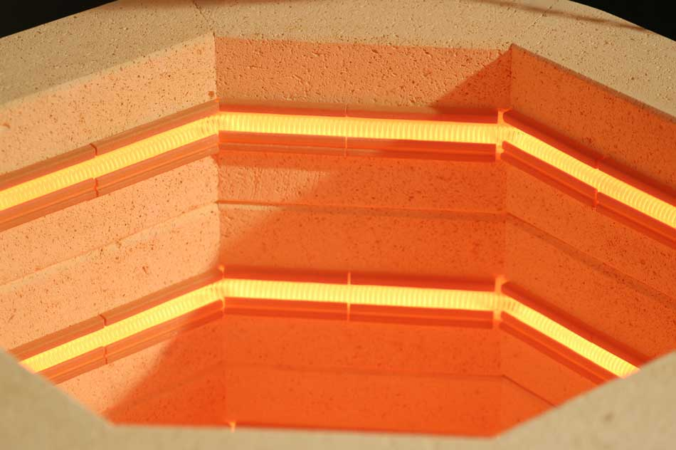 Ceramic Element Holders Make L&L Kilns