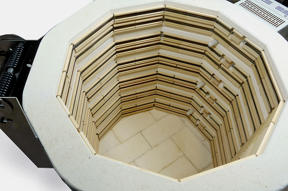 Inside a kiln with Quad elements