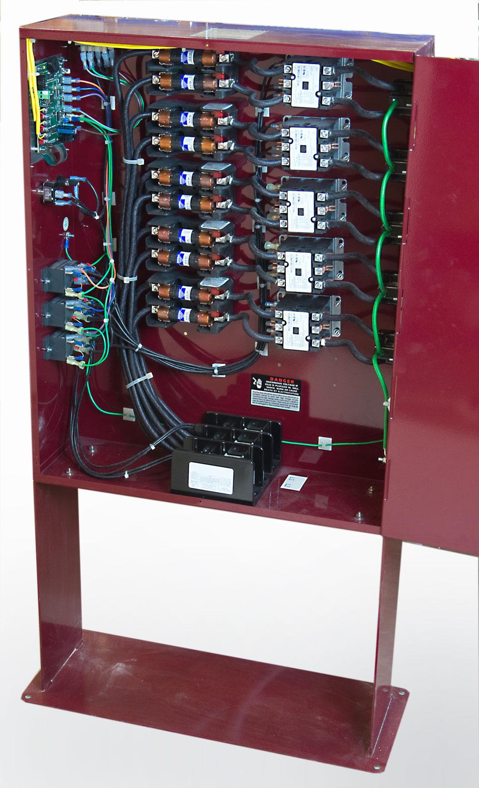 Floor Standing Panel With Industrial Wiring  Davinci